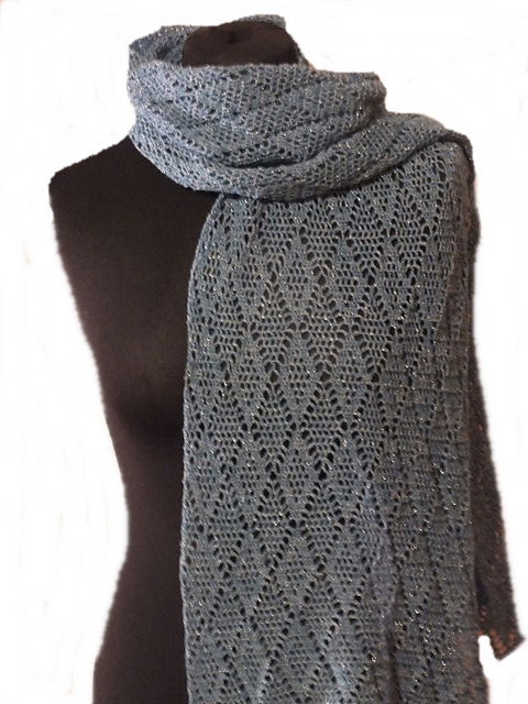 Ravelry: Kisajata Stola Lace pattern by Michaela Dörlam