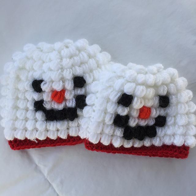 Ravelry Puff Stitch Snowman Hat Pattern By Kayla Pins