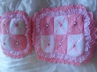 Ravelry Dolls Pram Blanket Amp Pillow Knitting Pattern