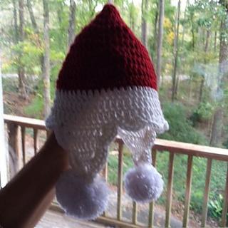 Ravelry Santa Earflap Hat Pattern By Sarah A Cano