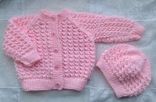Ravelry Lacey Baby Cardigan Pattern By Karena Conran