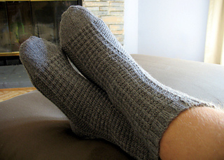 Knitting Patterns For Men s Socks On 4 Needles : Ravelry: Thermal Textured Socks pattern by Kelly Patla