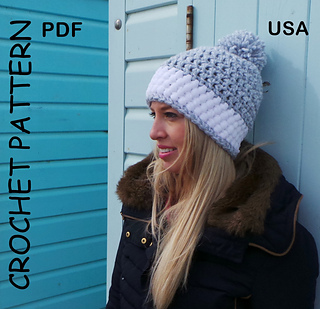 Ravelry  Nordic Snow Hat pattern by Kerry Jayne Designs 8305028d08a2