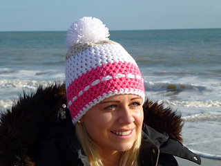 022068566dc Ravelry  The Snowball Beanie pattern by Kerry Jayne Designs