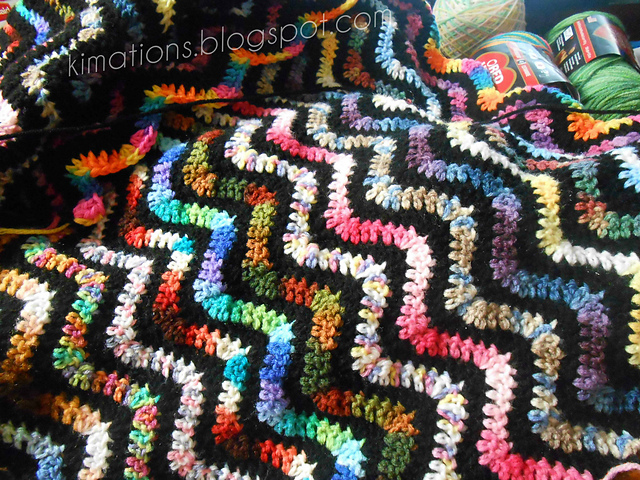 Ravelry Variegated Variegated Ripple Afghan Pattern By Kimberly