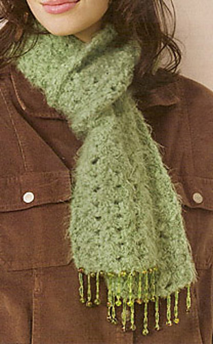 Ravelry Beaded Bliss Scarf Pattern By Kim Rutledge