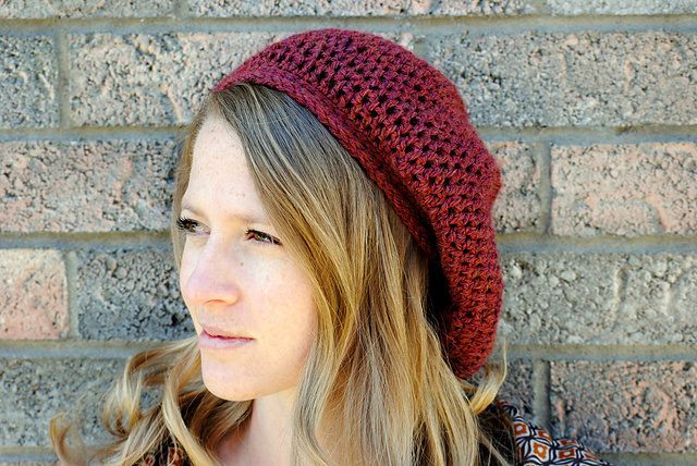 Ravelry Brookes Slouchy Hat Pattern By Kirsten Spitzer