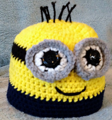 Ravelry  Child s Minion Hat pattern by Katerina Cohee e712d1e464e