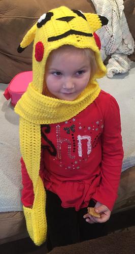 Ravelry: Pikachu Scoodie - Child Size pattern by Katerina Cohee