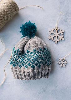 Knit Picky Patterns From Allfreeknitting : Ravelry: Shetland Baby Hat pattern by Kristina Kittelson
