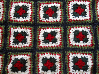 Christmas Granny Afghan Pattern By Katherine Eng Ravelry