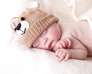 be229885879 Ravelry  Teddy Baby Hat pattern by Angela Turner