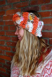 38c4564b8e2 Ravelry  Knit Collage Turban Headband pattern by Amy Small