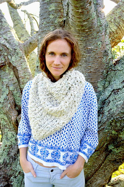 Ravelry Cast Away Bandana Cowl Pattern By Cheryl Kubat