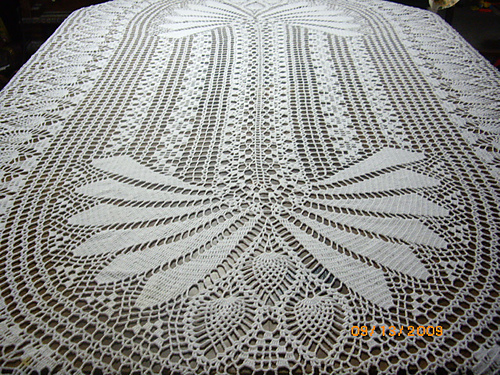 Ravelry Elizabeth Hiddleson Volume 39 Crochet Tablecloth Patterns