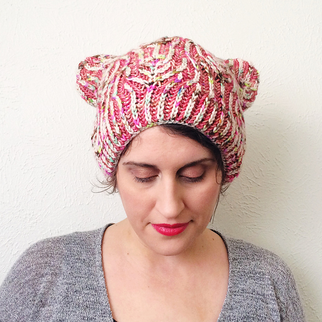 Ravelry Happy Kitty Hat Pattern By Lesley Anne Robinson