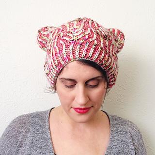 83575ea98e4de7 Ravelry: Happy Kitty Hat pattern by Lesley Anne Robinson