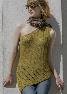 d1fe989a2dc Yuma from Knitted Tanks and Tunics by Angela Hahn © Tom Moore Studios
