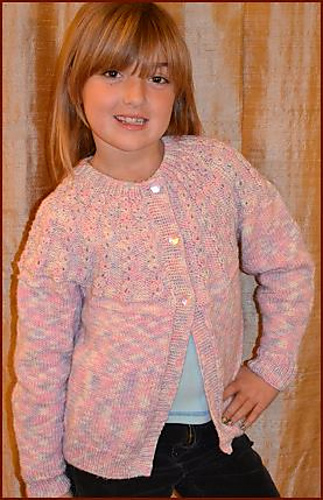 Girl S Cardigan Pattern By Gail Tanquary Ravelry