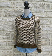 Mixed Pattern Sweater PDF