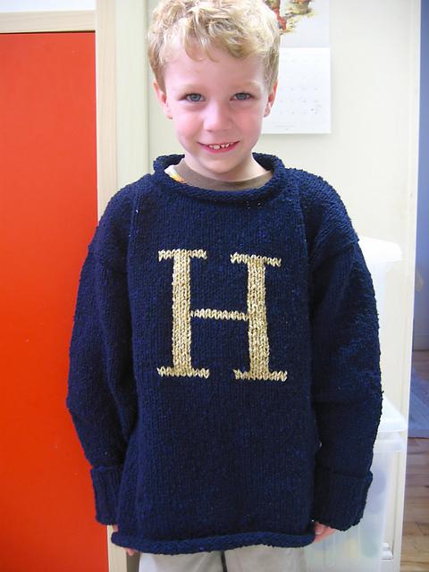 Ravelry The Weasley Sweater Pattern By Alison Hansel