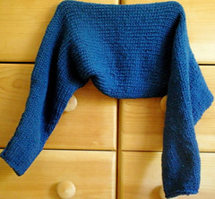 Ravelry: Super Simple Knitted Shrug pattern by Marni Reecer