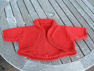 Ravelry: Baby Bolero pattern by Debbie Bliss