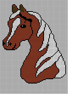 Ravelry: Childrens & Adults Horses Head Jumper / Sweater ...