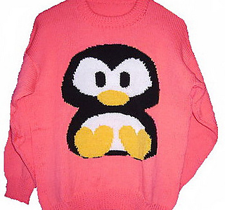 Christmas Penguin Jumper Knitting Pattern : Ravelry: Christmas Penguin Jumper / Sweater Knitting Pattern #4 pattern by Bl...