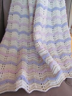 Ravelry Sweet Pea Baby Blanket Pattern By Krista Werbil