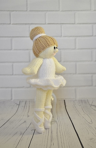 Ravelry Ballerina Doll Pattern By Knitting By Post