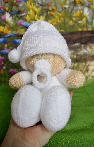 Ravelry Easy Knit Baby Pattern By Knitting By Post