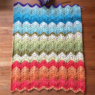 Children s Blanket Pattern Knitting : Ravelry: knittinghoneybees 6-Day Kid Blanket
