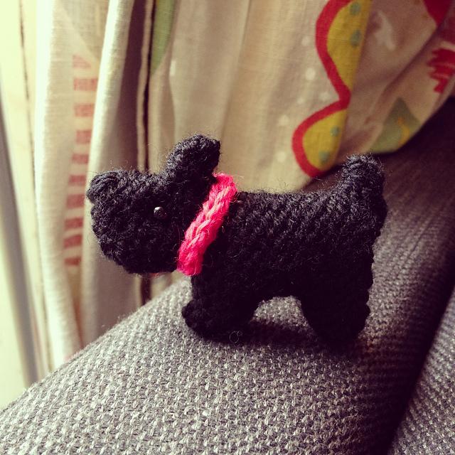 Ravelry Tiny Scottie Dog Pattern By Sue Stratford