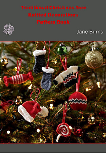 Ravelry Traditional Christmas Tree Knitted Decorations Pattern Book