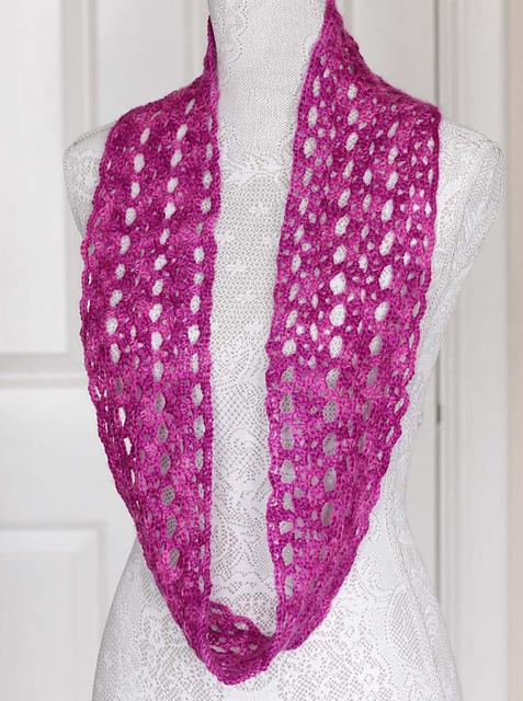 Ravelry Crochet Infinity Scarves Patterns