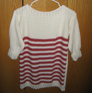 d069b868e Ravelry  Favorite Reverse Stockinette T pattern by Kathy Perry
