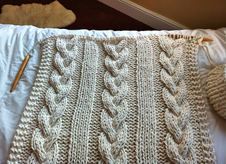 cable knit blanket Ravelry: Cable Knit Blanket pattern by Knitting Revolution cable knit blanket