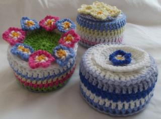 Ravelry Crochet A Trinket Box Pattern By Suz Knittykits