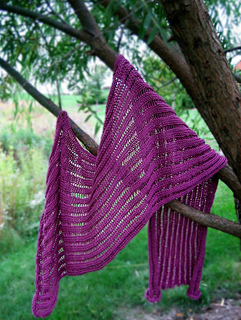 The Dummy Clap Shawl pattern by Anna Maliszewski