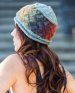 ec169241d15 Ravelry  Idun Entrelac Hat pattern by Tina Whitmore