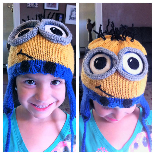 Ravelry Knitwit Knits Minion Hat Pattern By Amy Orosco
