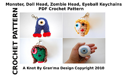 Monstedollheadzombieheadeyeballkeychainpattern_small_best_fit