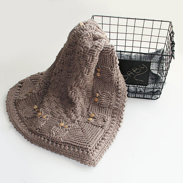 Ravelry Basket Of Owls Baby Blanket Pattern By Kim Miller