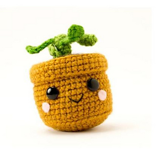 Ravelry: Pull and Grow Amigurumi Plant pattern by Allison