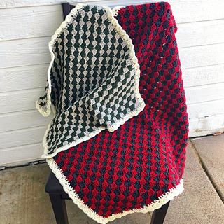 Checkerboard Blanket pattern by Kountingsheep