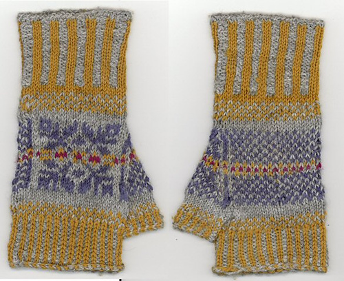 Ravelry: Basic Knitting Fair Isle Mittens & Gloves - patterns