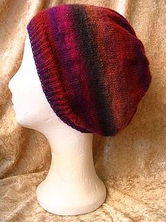 Ravelry  Sock Yarn Slouch hat pattern by Sandra Bichlmayer 7cab190e0e4