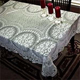 Ravelry: Luca Rectangular Tablecloth Pattern By Hass Design