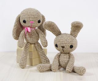 Alpaca Amigurumi Pattern Free : Ravelry: small long legged bunny pattern by kristi tullus